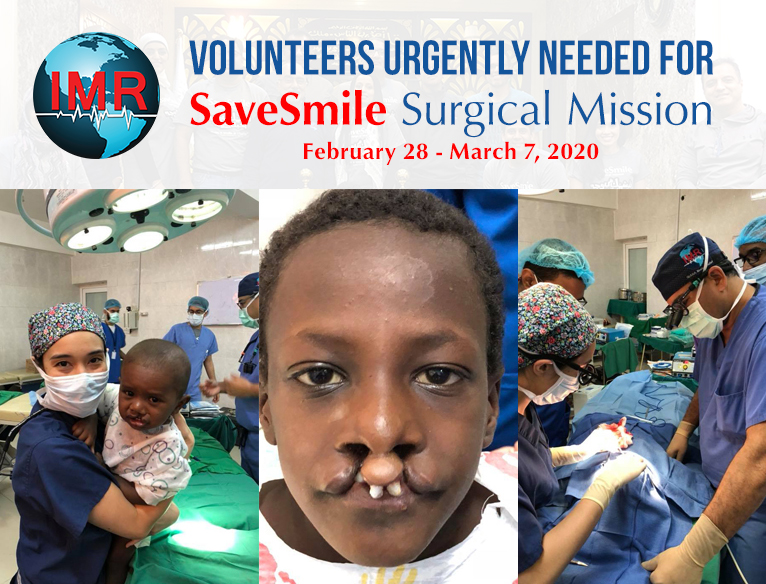 Medical Volunteers – We Need You Urgently!
