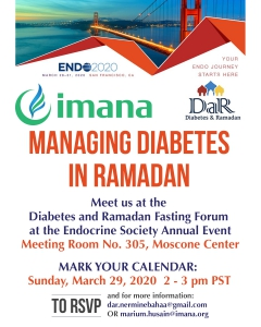 Managing Diabetes in Ramadan