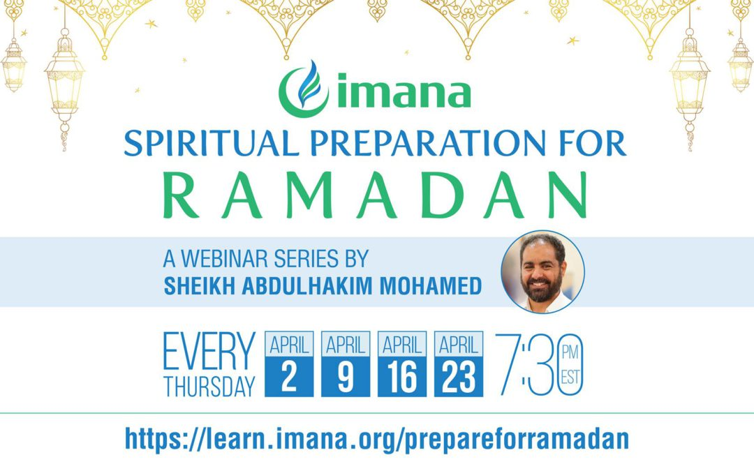 RingCentral Meeting: IMANA Virtual Hangouts with Dr. Abdulhakim Mohammed