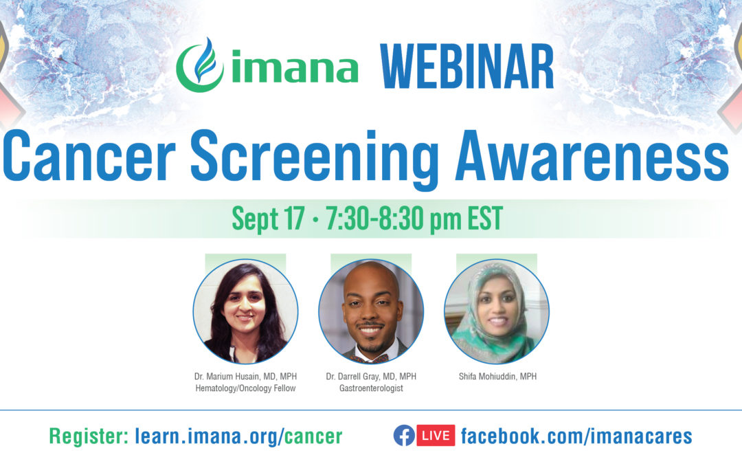 Webinar: Cancer Screening