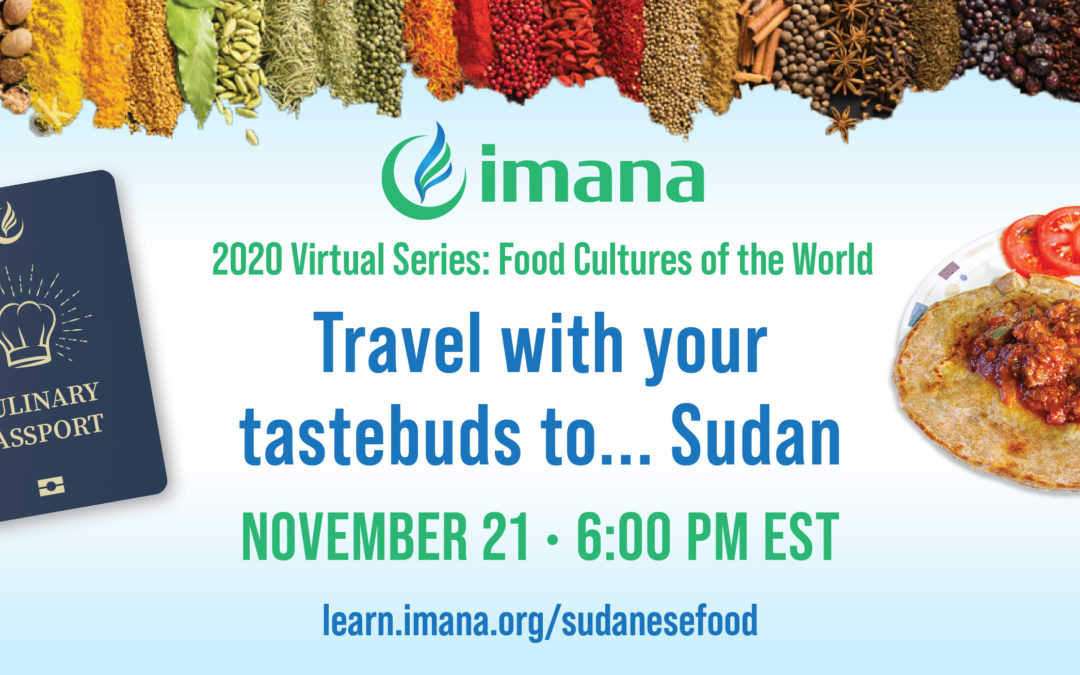 Fall Campaign Event: Travel with your taste buds to… Sudan