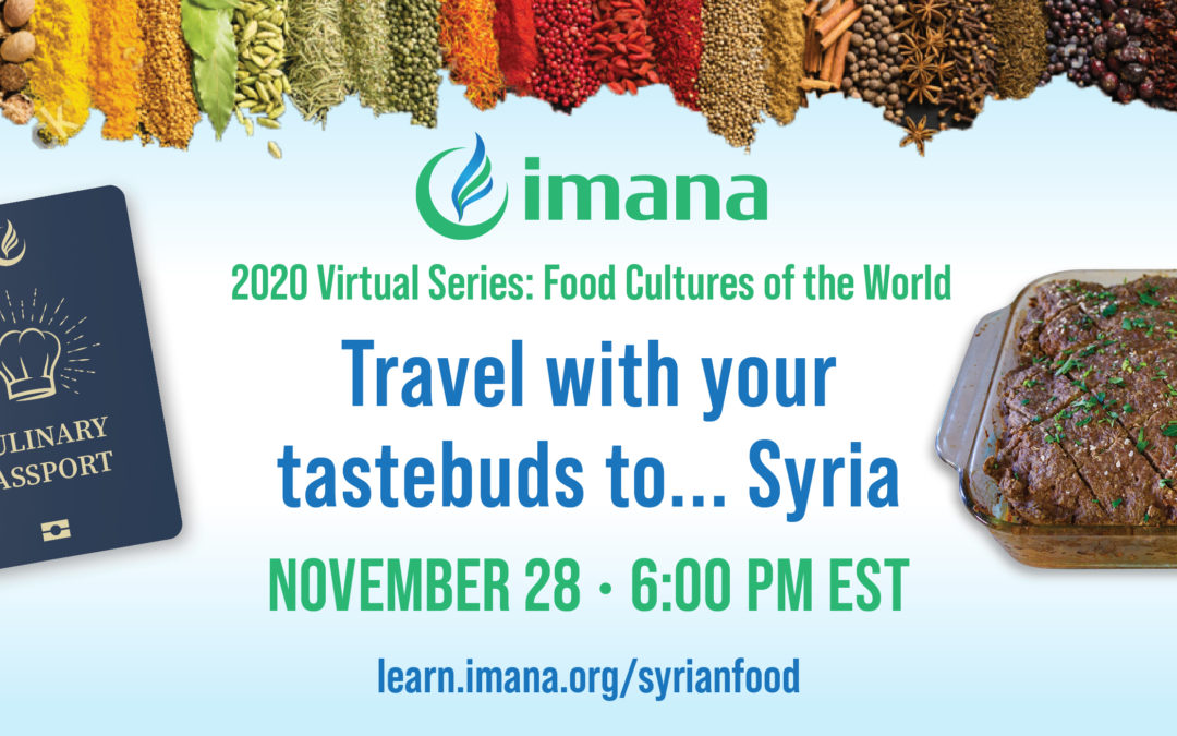 Fall Campaign Event: Travel with your taste buds to… Syria