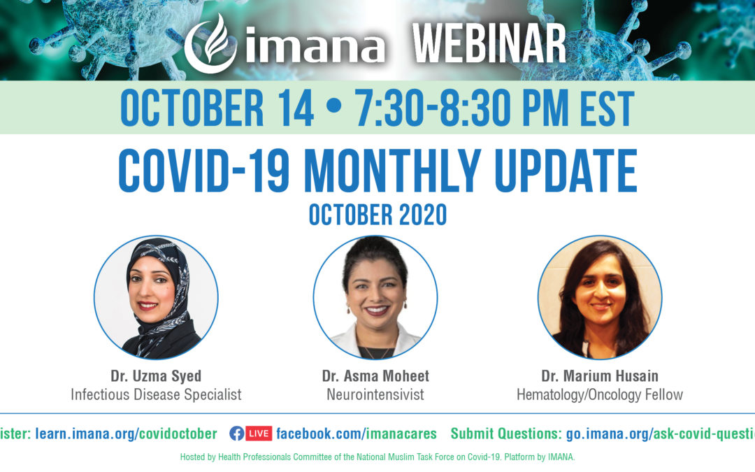 Webinar: COVID-19 Monthly Update – October 2020
