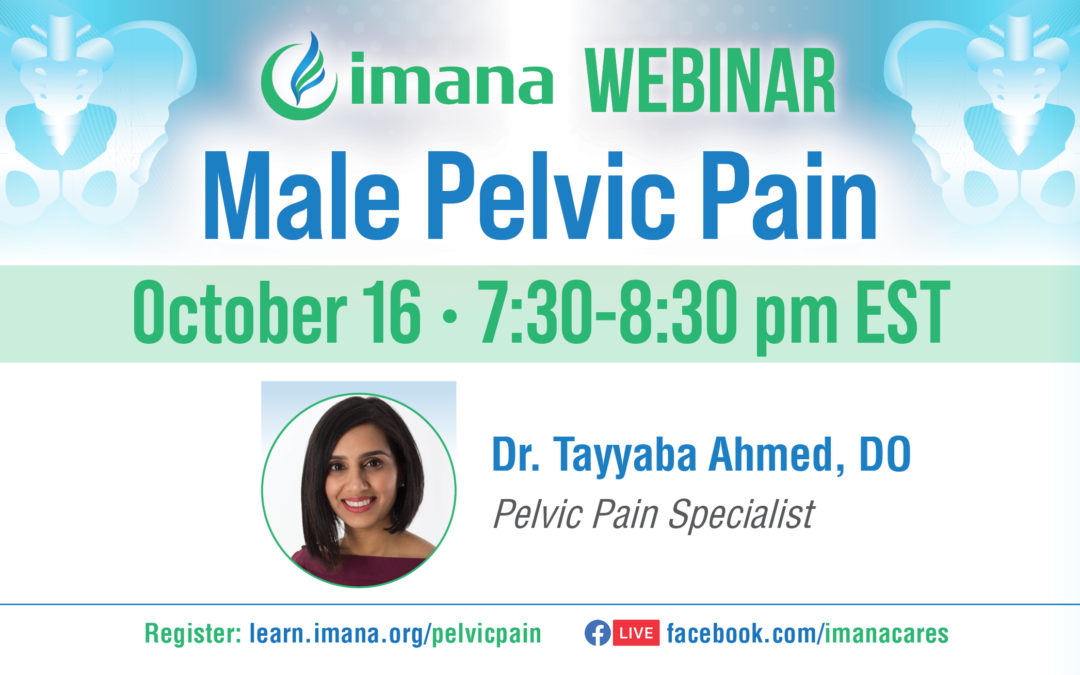 Webinar: Male Pelvic Pain by Dr. Tayyaba Ahmed