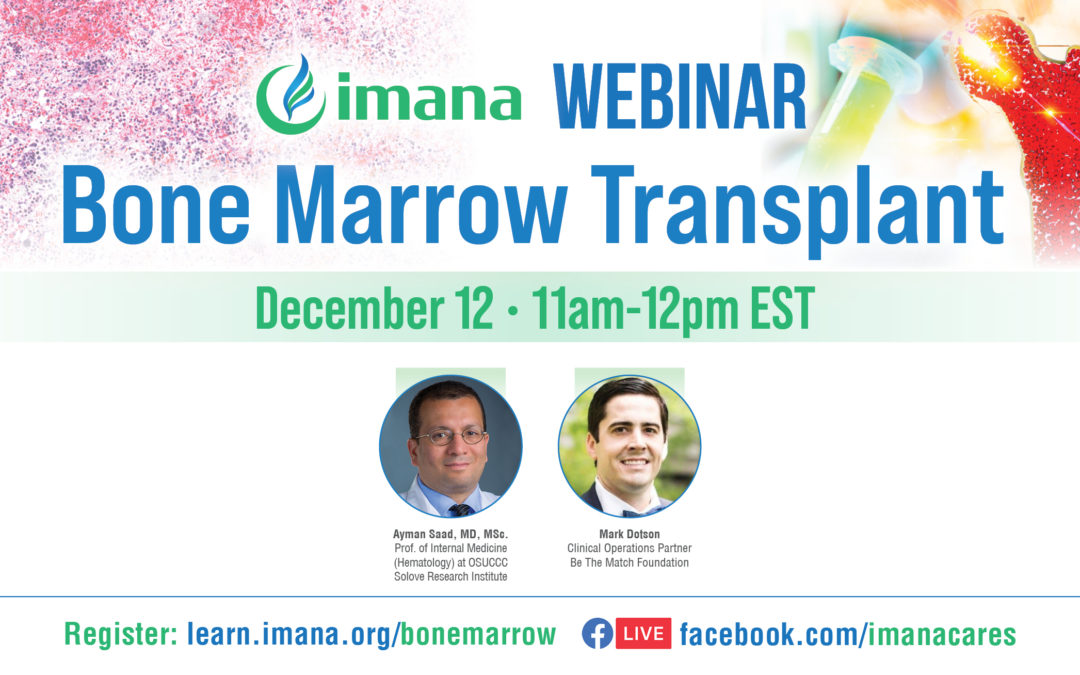 Webinar: Bone Marrow Transplants
