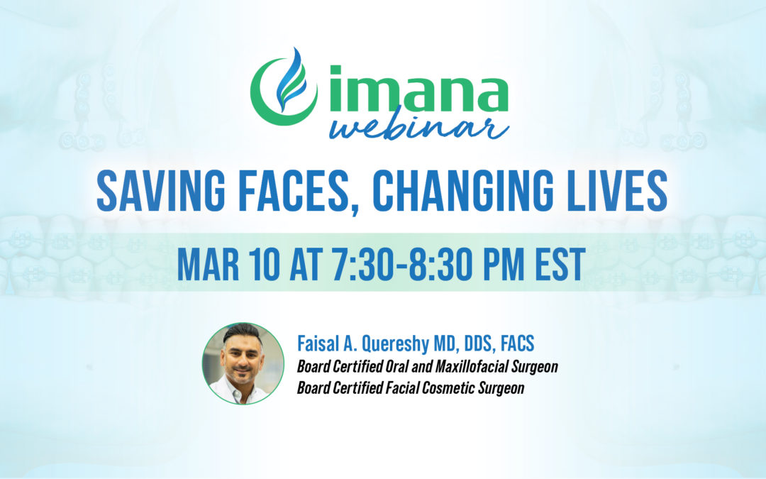 Webinar: Oral & Maxillofacial Surgery: Saving Faces, Changing Lives.