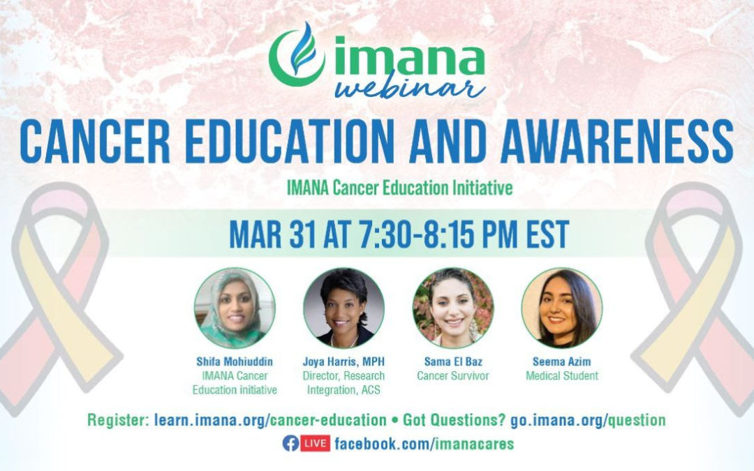 Webinar: Cancer Education and Awareness